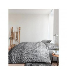 Beddinghouse ARIADNE Handcraft Dekbedovertrek Dark Grey eenpersoons